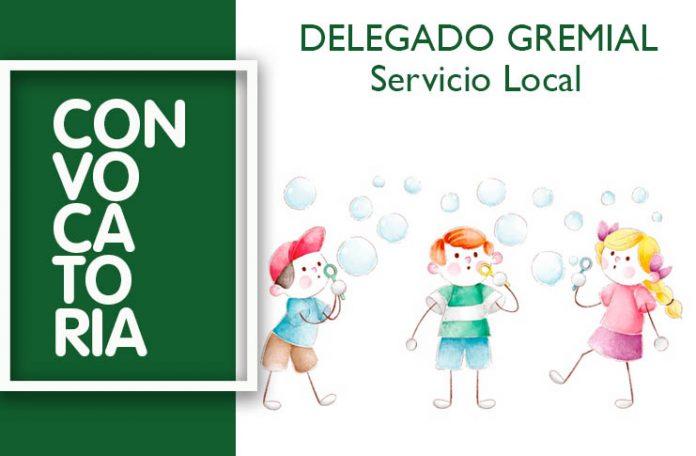 Delegado Gremial Servicio Local