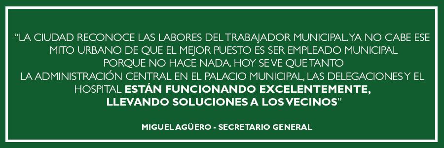 Miguel Aguero - Sindicato de Trabajadores Municipales Bahía Blanca